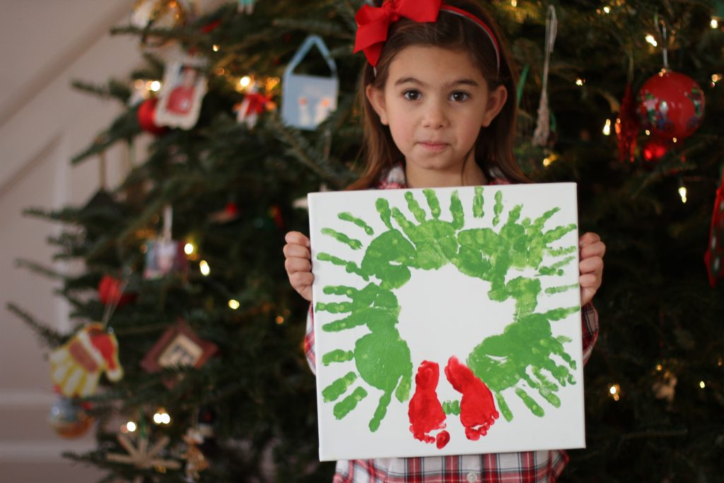 Janie and Jack Christmas Handprint