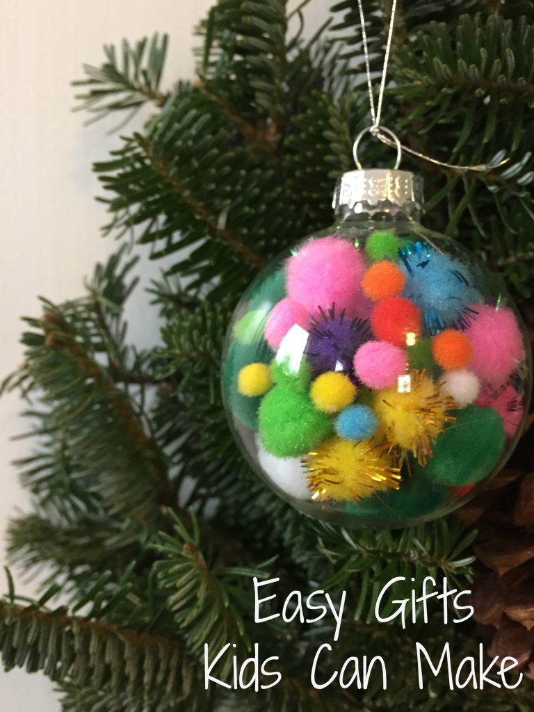 Easy Christmas Gifts Kids Can Make - The Chirping Moms