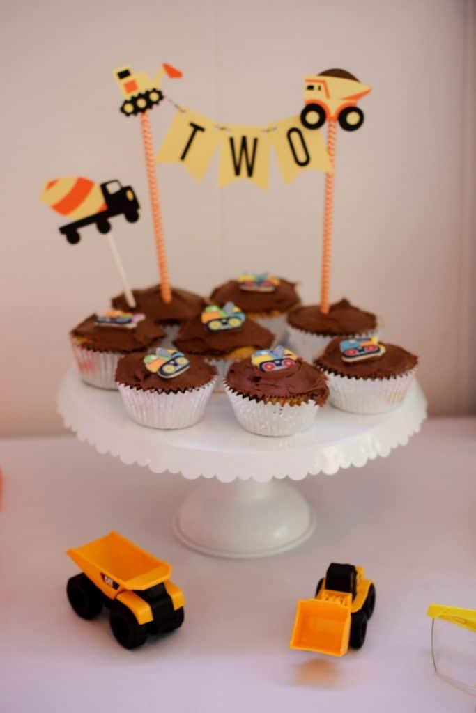 Construction Trucks Birthday Party