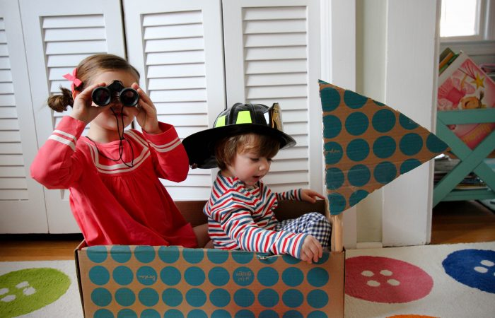 Mini Boden to the Rescue: A DIY Rescue Boat, Superhero Accessories & BIG Giveaway