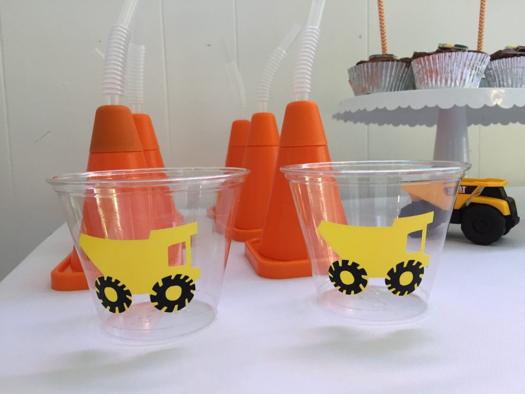 Construction Trucks Birthday Party