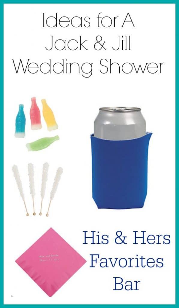 Jack and Jill Shower ideas