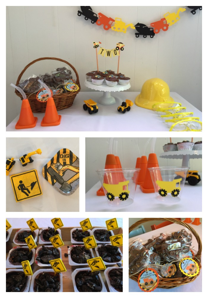 Construction Party Truck Birthday