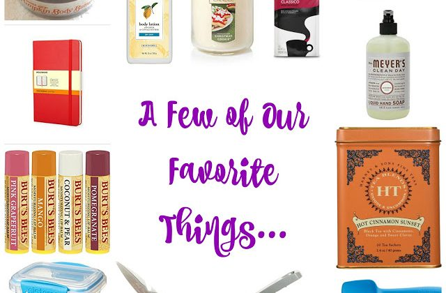 A List of Moms' Favorite Things…