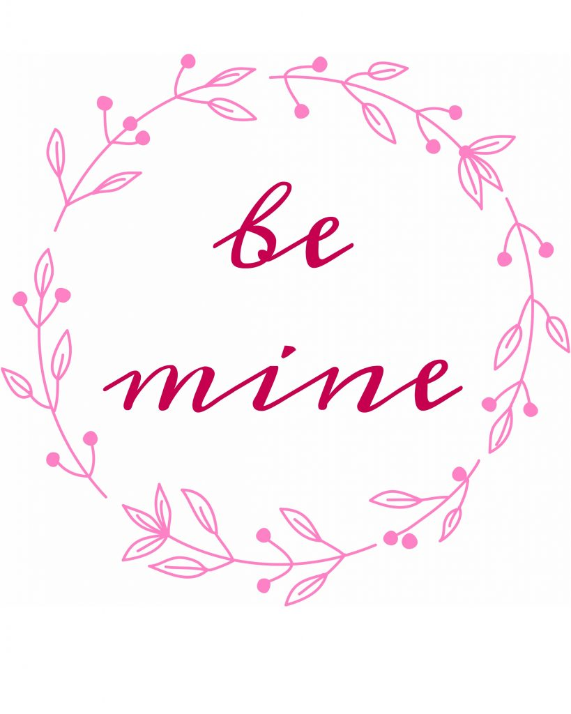 Valentine's Day Free Printable Sign