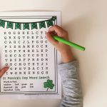 St. Patrick's Day Word Search { Free Printable }