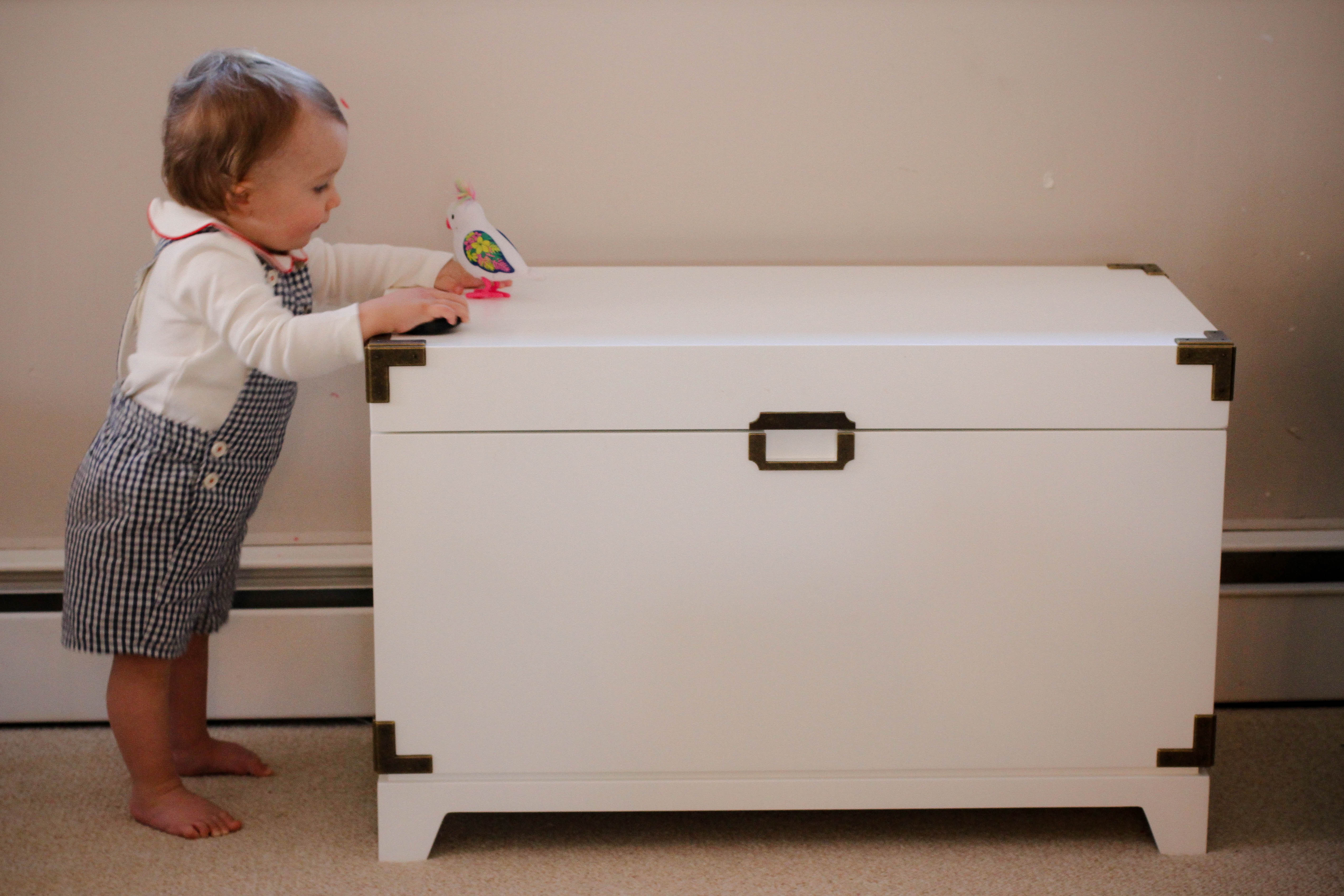 Tips for toy storage how to best hide toys in your living room the chirping moms for Best toy storage for living room