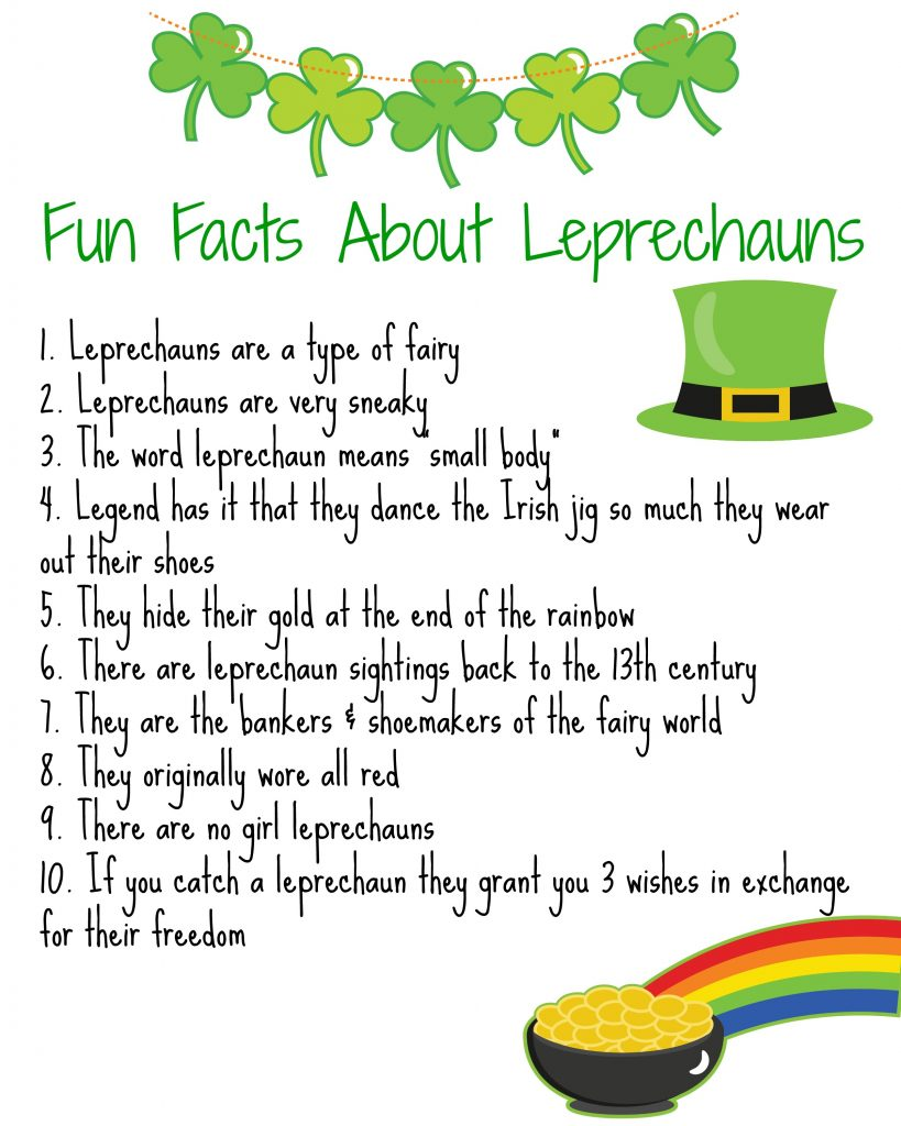 Leprechaun Facts