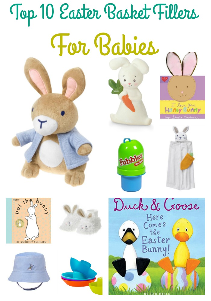 baby easter basket fillers