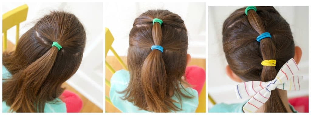 Very Easy Hair Styles For Girls From Toddlers To School Age