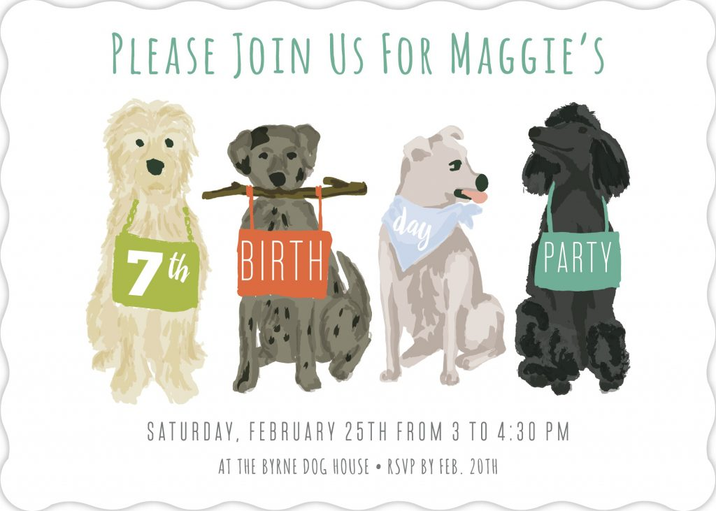A Puppy Dog Themed Birthday Party: Invites, Decor, Activities