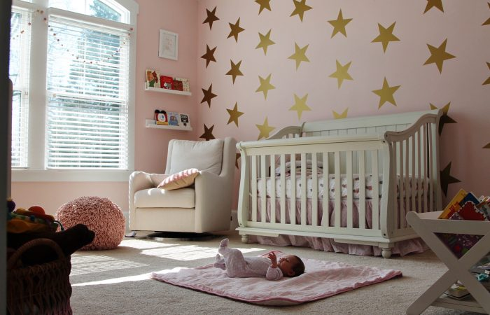 Our Baby Girl's Nursery