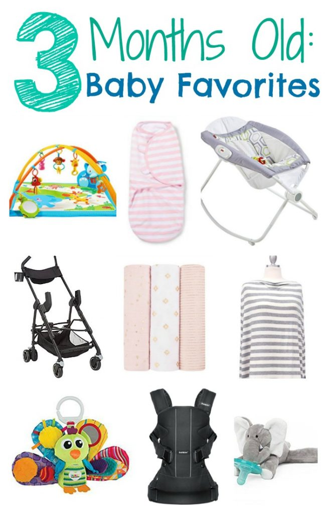 Baby Favorites : Three Months || The Chirping Moms