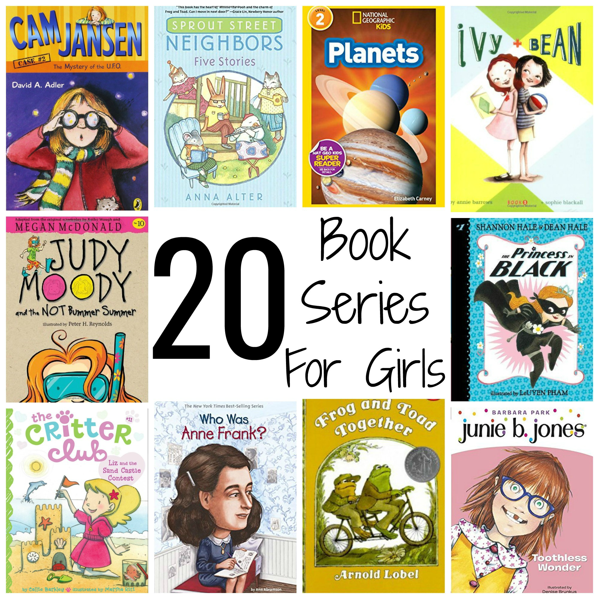 20 Book Series For Girls Grades 1 3 The Chirping Moms