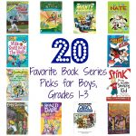 20 Book Series Recommendations for Boys, Grades 1-3