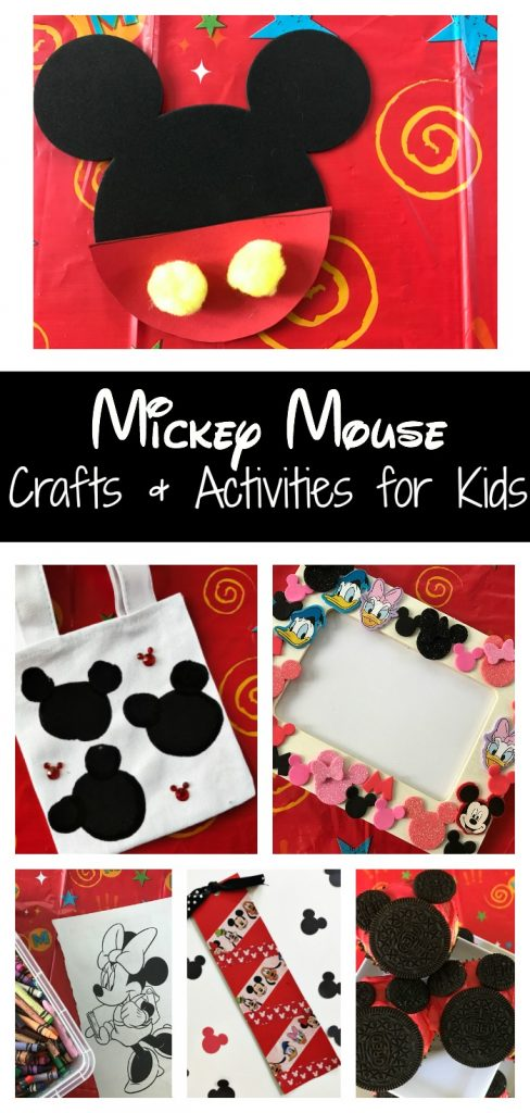 Mickey Mouse Crafts & Activities for Kids || The Chirping Moms