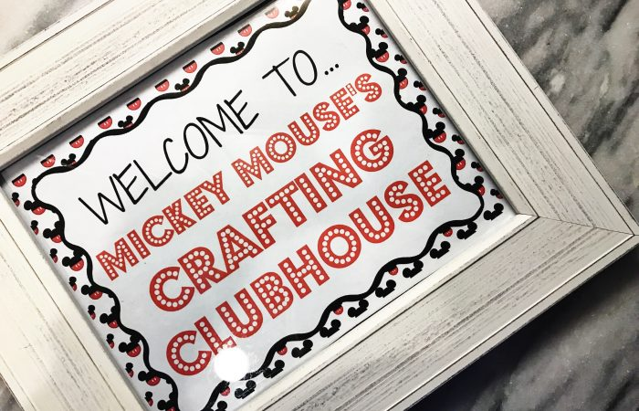 "A ""Crafting Clubhouse"" Mickey Mouse Party"