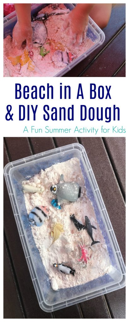 Beach In A Box & DIY Sand Dough || The Chirping Moms
