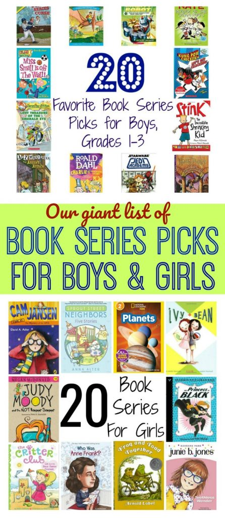 Favorite Book Series for Boys & Girls || The Chirping Moms