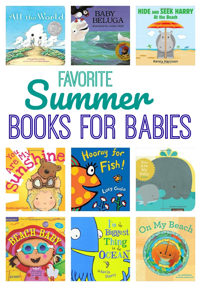 Favorite Summer Books for Babies || The Chirping Moms