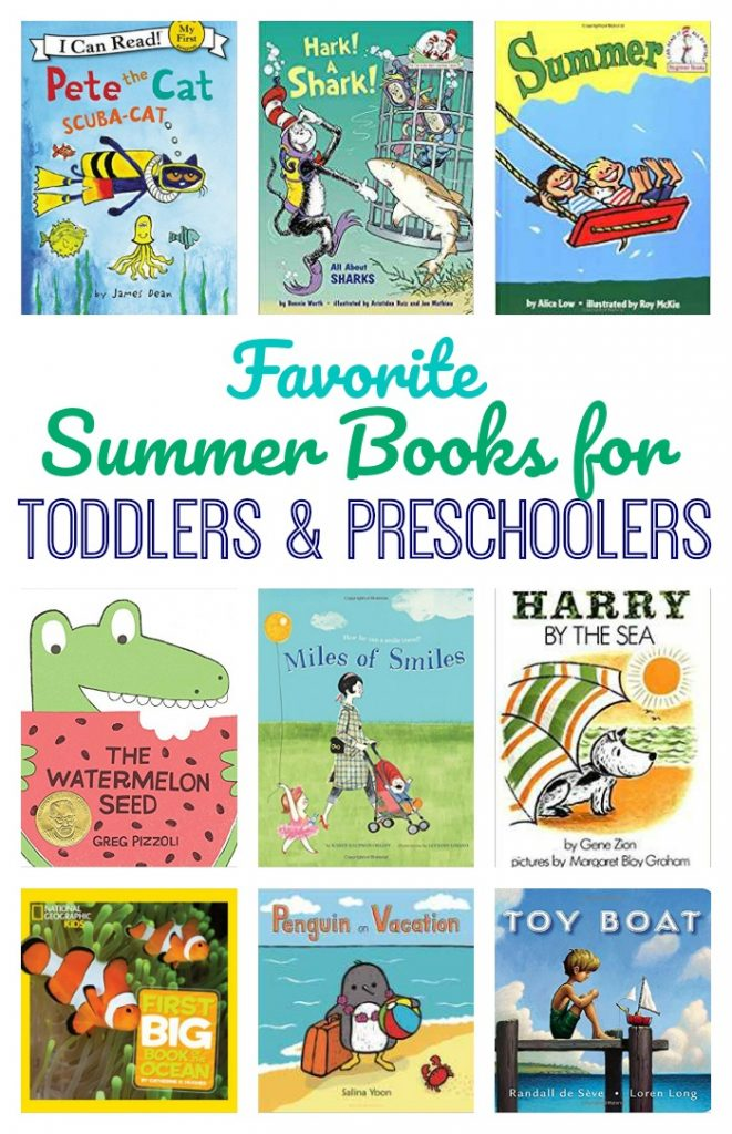 Favorite Summer Books for Toddlers & Preschoolers || The Chirping Moms