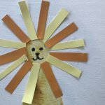 DIY Lion Guard Footprint Craft for Kids
