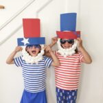 Uncle Sam Paper Plate Mask: Easy 4th of July Craft