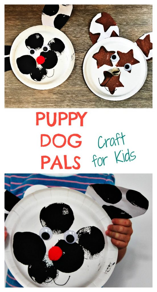 Puppy Dog Pals Craft for Kids || The Chirping Moms