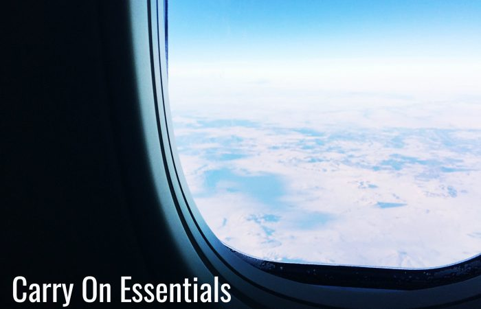 10 Things to Have in Your Carry On Bag