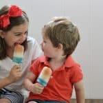 Easy 4th of July Recipe: DIY Patriotic Ice Pops