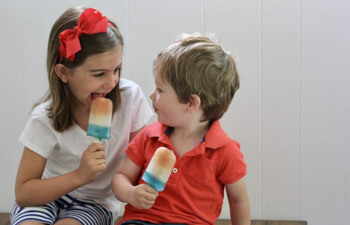 Easy 4th of July Recipe: DIY Patriotic Ice Pops
