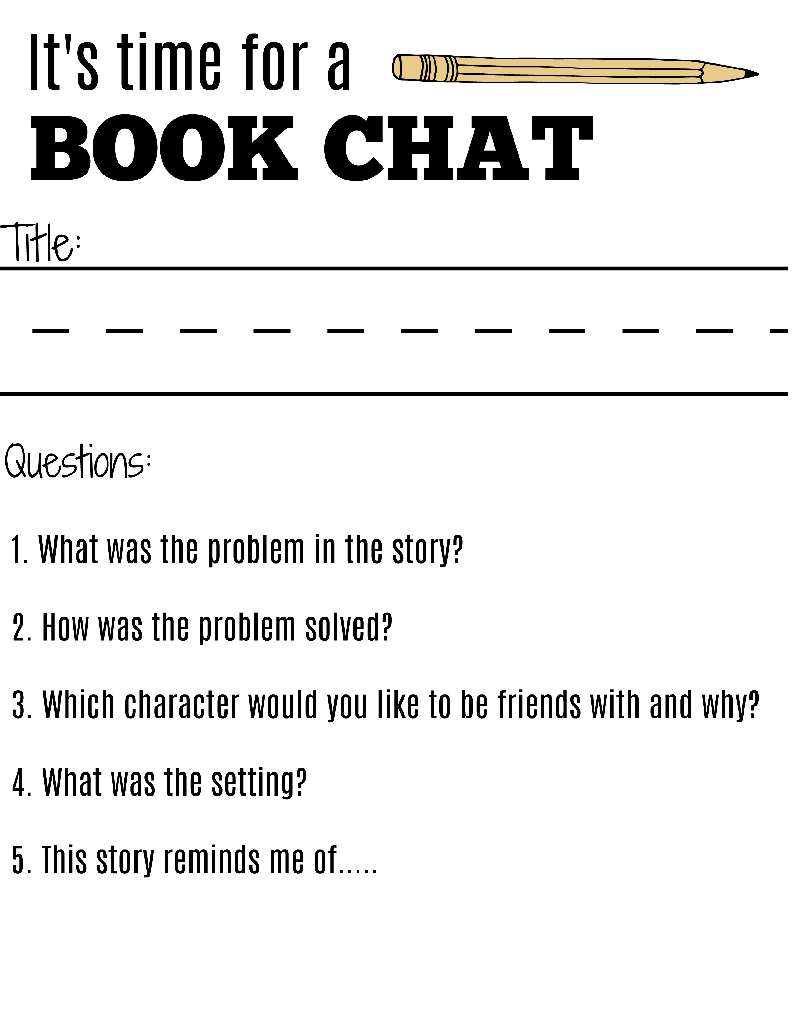 how to start a book report