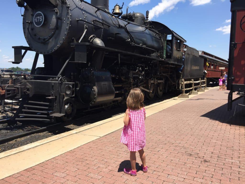 Large Train The Strasburg Railroad