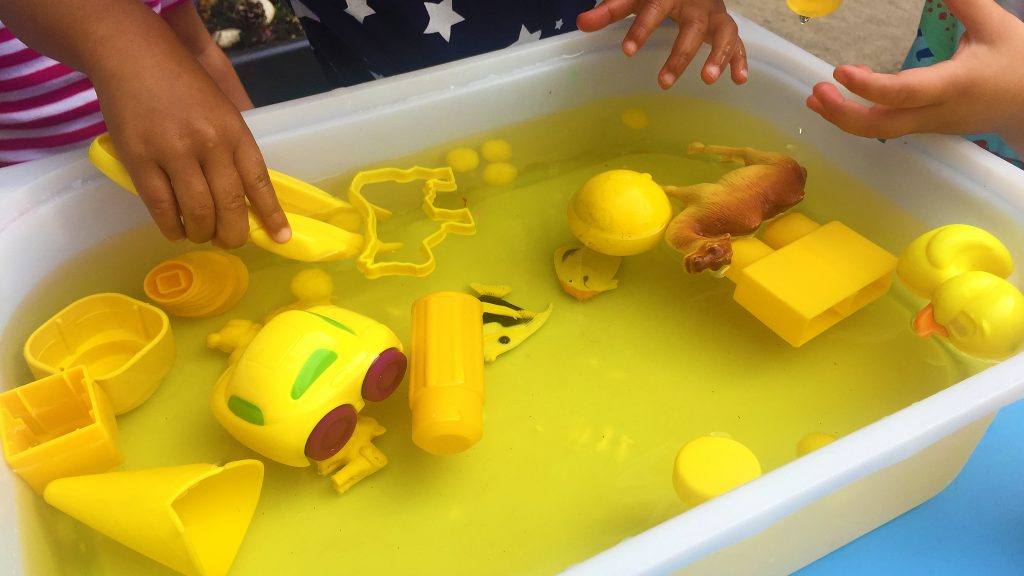 Summer Sensory Soup - The Chirping Moms