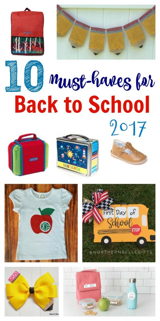 Back to School Must-Haves || The Chirping Moms. Back to School Favorites.