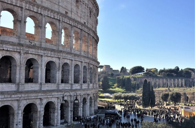 Visiting Rome with a Baby