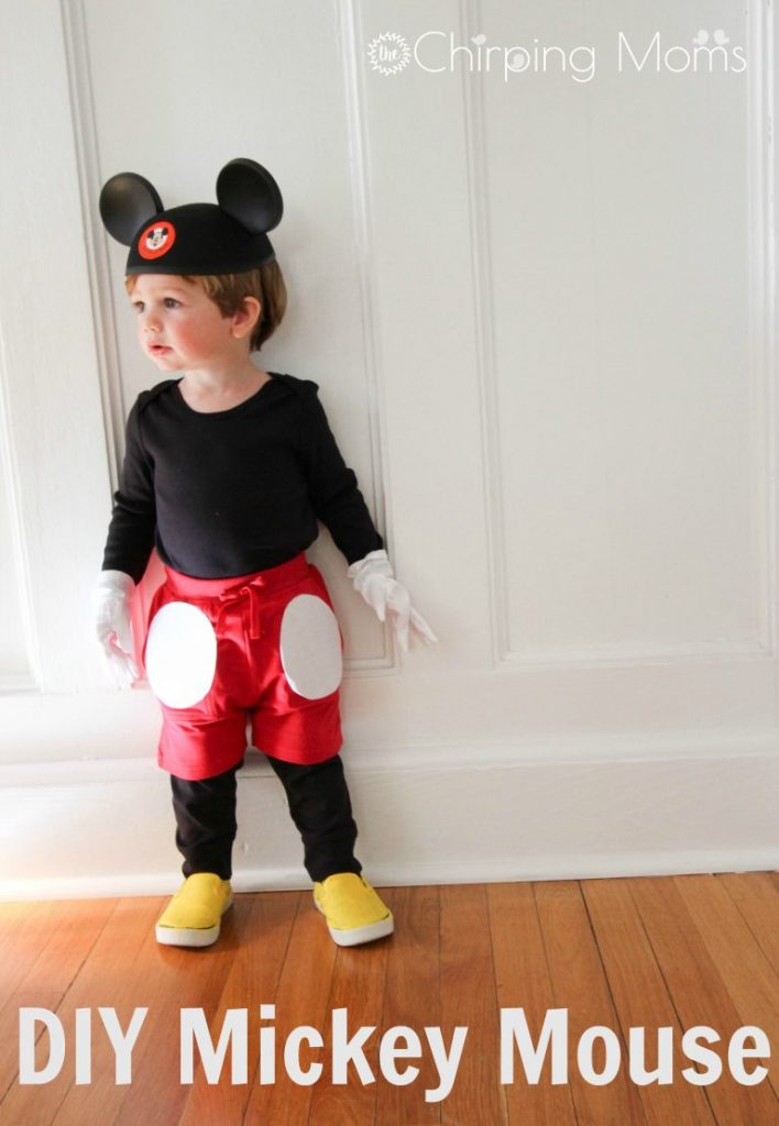 15 easy diy halloween costumes for babies and kids diy mickey mouse costume solutioingenieria Gallery