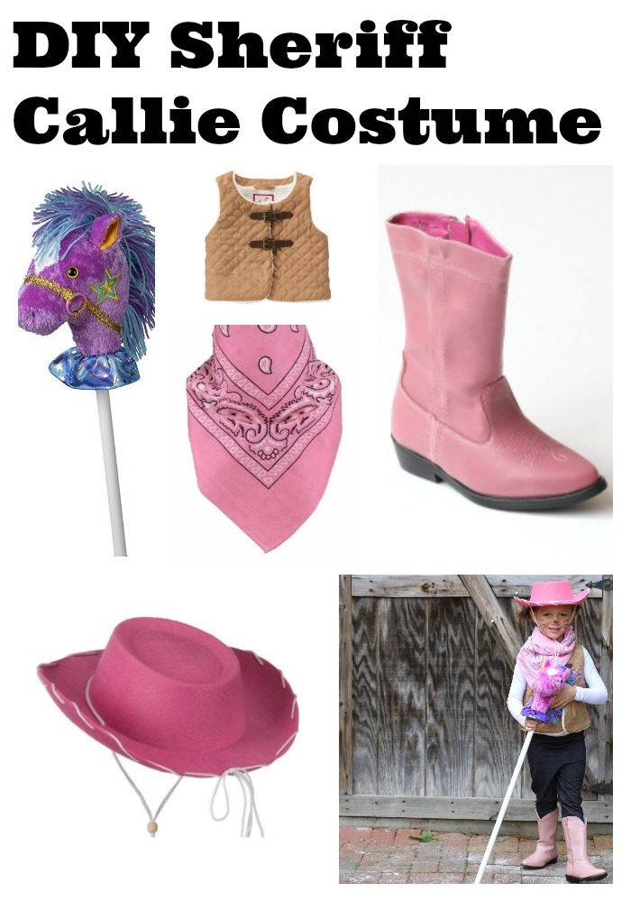 15 easy diy halloween costumes for babies and kids diy sheriff callie cowgirl costume solutioingenieria Gallery