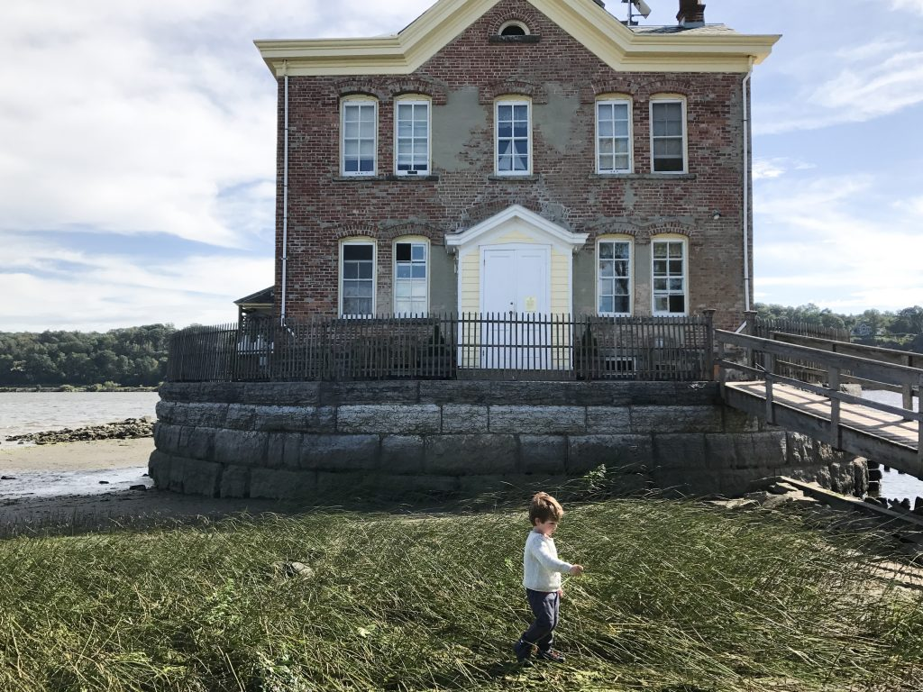 Saugerties Lighthouse in New York