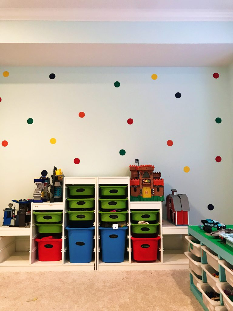 Toy Storage Ideas for Playroom || The Chirping Moms #playroom