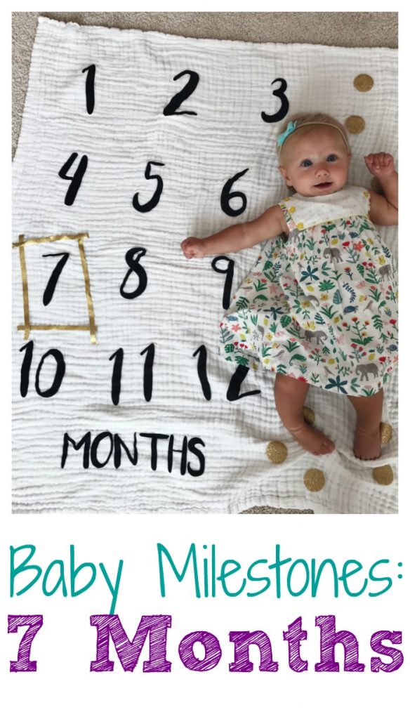 Seven Month Old Milestones. Baby Milestones || The Chirping Moms