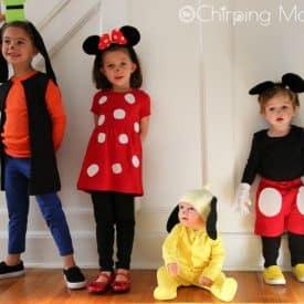 10 Cute DIY Costumes for Siblings, Friends or Families
