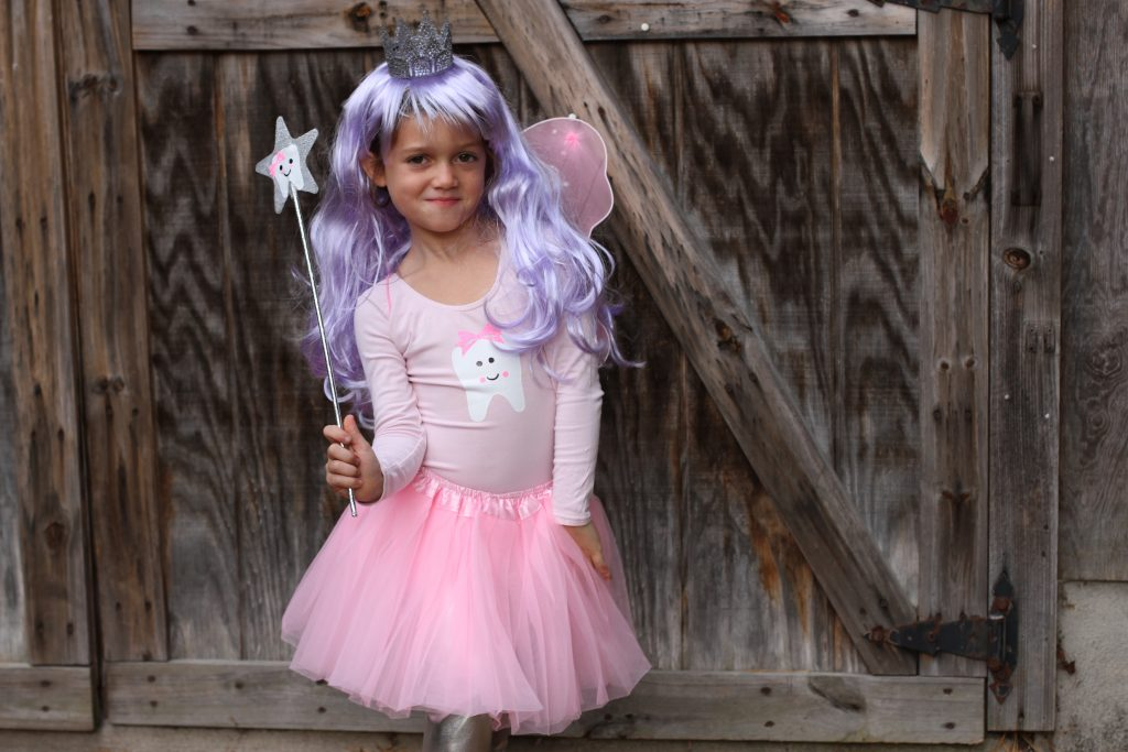 Considering my girls play dress up a lot still and we have quite the array of tutus this wasnu0027t a very tough costume to make. Basically I started with a ...  sc 1 st  The Chirping Moms & Easy DIY Halloween Costume for Kids: The Tooth Fairy
