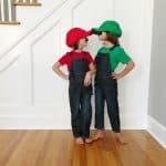 DIY Costumes: Mario and Luigi