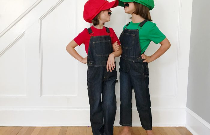 DIY Costumes: Mario and Luigi