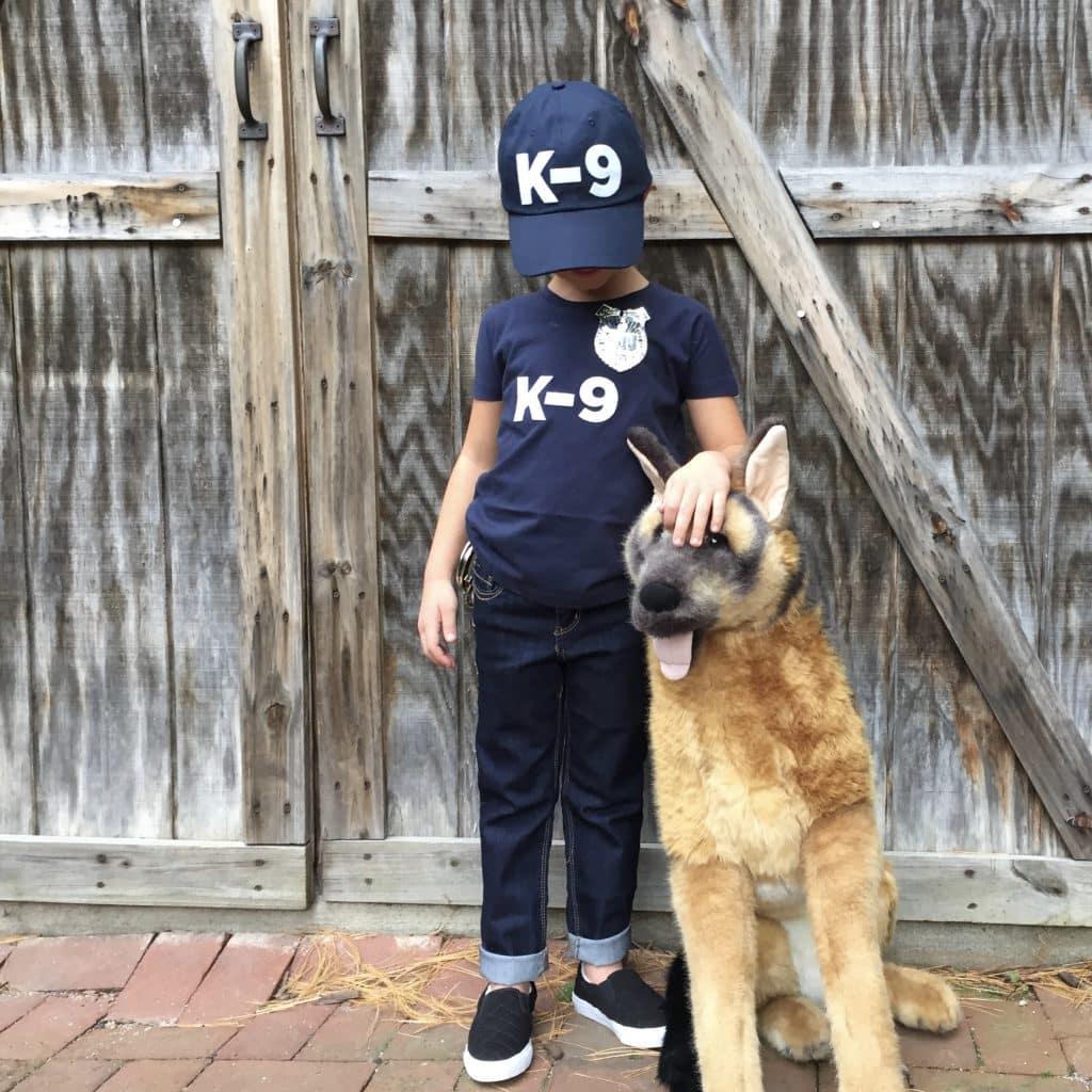 k9 dog costume