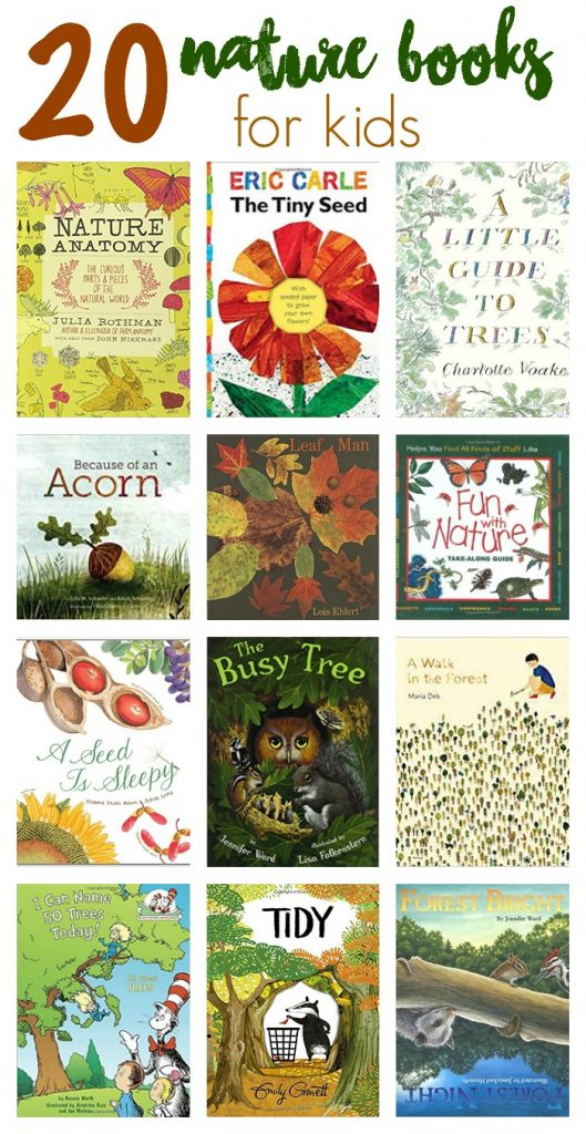 20 Nature books for kids