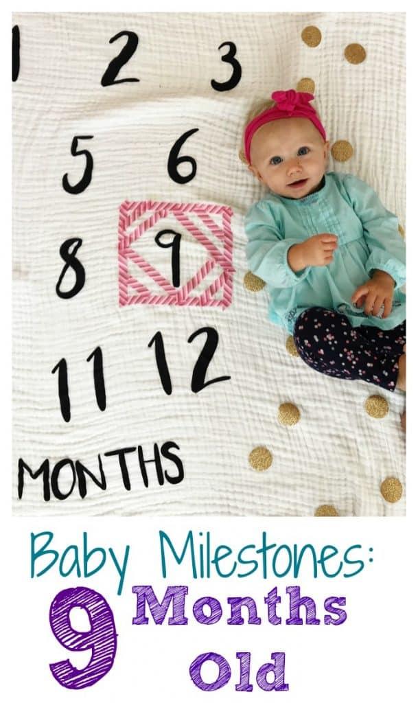 Nine Month Old Milestones || The Chirping Moms #ninemonthsold