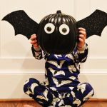 DIY Bat Pumpkin Craft (& Mini Boden Halloween)