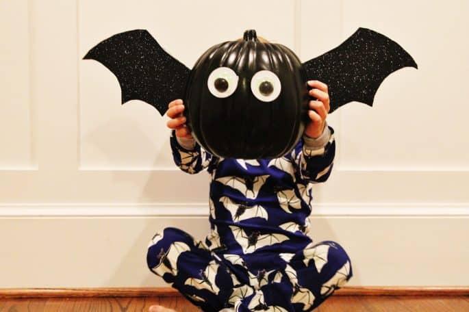 DIY Bat Pumpkin Craft